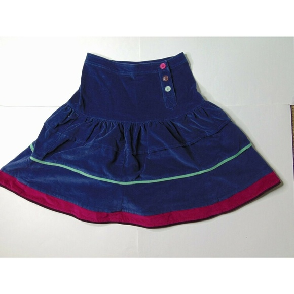 Marc Jacobs Dresses & Skirts - Marc Jacobs Size 4 Corduroy Flare Skirt Blue